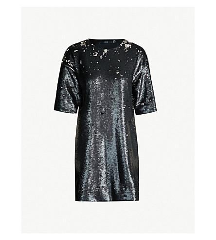 J BRAND FASHION Lilly sequinned mini dress (Black/future