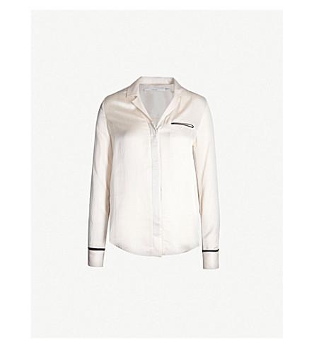 J BRAND FASHION Kaiya satin shirt (Mood+light/black