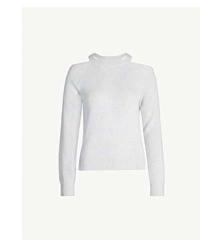 J BRAND FASHION Mackenzie cashmere jumper (Light future