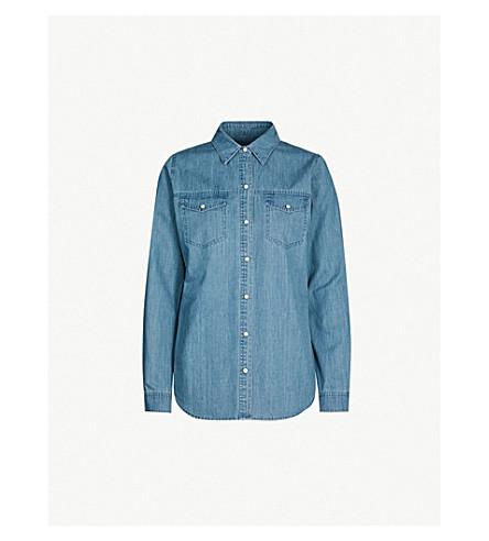 J BRAND FASHION Perfect denim shirt (Blue shift