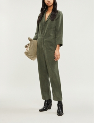 Traveler denim jumpsuit