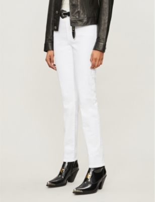 Ruby mid-rise cigarette jeans