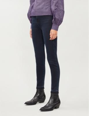 Leenah skinny high-rise jeans
