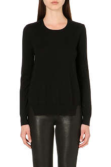 J BRAND FASHION Theodate wool and chiffon jumper