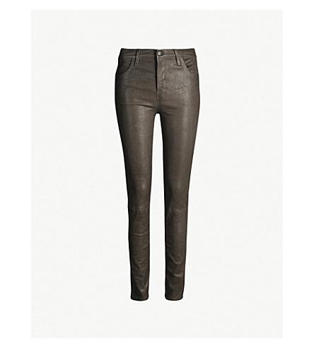 J BRAND Maria skinny leather jeans (Future