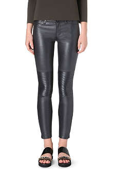 J BRAND Nicola leather moto trousers