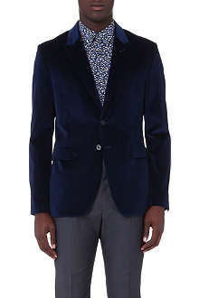PS BY PAUL SMITH Velvet single-breasted blazer