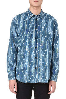 RED EAR Bamboo print shirt