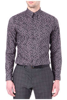 PS BY PAUL SMITH Floral slim-fit shirt