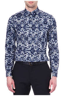 PS BY PAUL SMITH Screen-printed single-cuff shirt