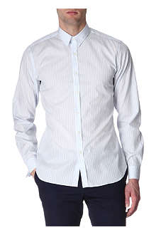 PS BY PAUL SMITH Ribbon-striped slim-fit shirt