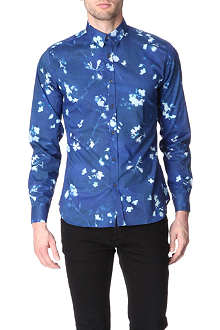 PS BY PAUL SMITH Photogram floral single cuff shirt