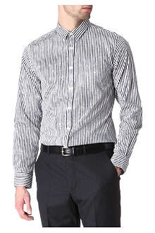 PS BY PAUL SMITH Hazy-striped single cuff shirt