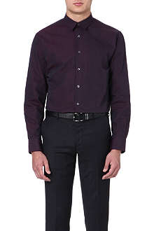 PS BY PAUL SMITH Polka-dot regular-fit single-cuff shirt