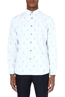PAUL SMITH People print shirt
