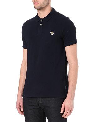 PAUL SMITH JEANS Zebra polo shirt