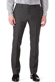 PS BY PAUL SMITH Crosshatch suit trousers