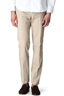 PS BY PAUL SMITH Formal cotton-twill chinos