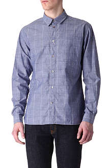 PAUL SMITH JEANS Chambray tailored-fit shirt