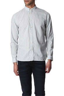 PAUL SMITH JEANS Seersucker striped cotton shirt