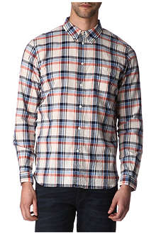 PAUL SMITH JEANS Checked standard-fit shirt
