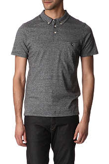PAUL SMITH JEANS Striped flecked polo shirt