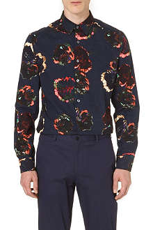 PS BY PAUL SMITH Painted large flower shirt