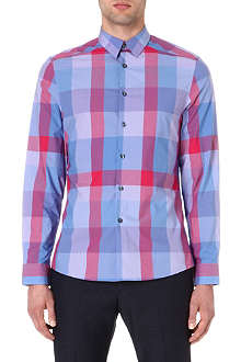 PAUL SMITH Checked slim-fit shirt