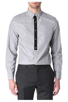 PS BY PAUL SMITH Contrast-placket single-cuff shirt