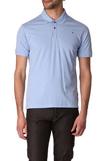 PS BY PAUL SMITH Contrast-placket jersey polo shirt