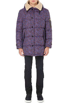 PS BY PAUL SMITH Quilted camo coat