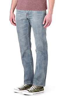 PAUL SMITH JEANS Standard regular-fit broken-twill jeans