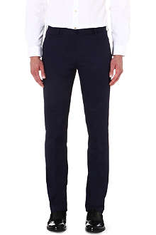 PS BY PAUL SMITH Slim-fit stretch-cotton chinos