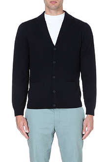PS BY PAUL SMITH Contrast-seam wool cardigan