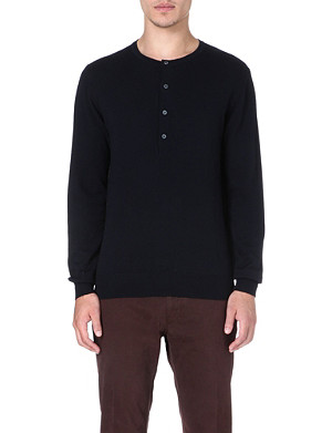 PS BY PAUL SMITH Henley wool jumper