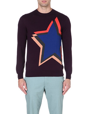 PS BY PAUL SMITH Star Shift intarsia jumper