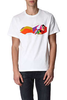 PAUL SMITH JEANS Abstract fish t-shirt
