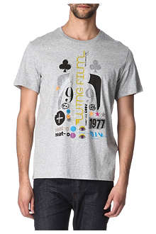 PAUL SMITH JEANS Wing film logo T-shirt