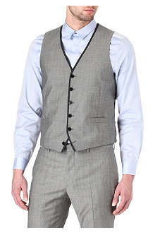 PS BY PAUL SMITH Contrast-trim waistcoat