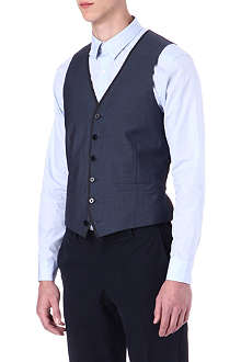 PS BY PAUL SMITH Wool and mohair waistcoat
