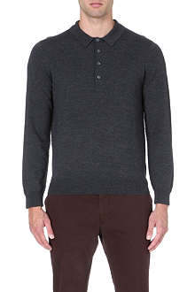 PS BY PAUL SMITH Long-sleeved wool polo shirt