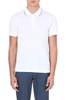 PS BY PAUL SMITH Contrast-trim logo polo shirt