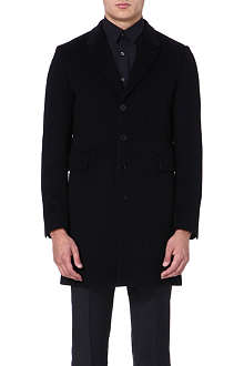 PS BY PAUL SMITH Single-breasted wool-blend coat