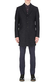 PS BY PAUL SMITH Single-breasted wool-blend overcoat