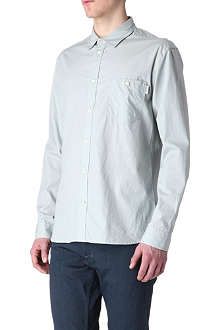 PAUL SMITH JEANS Crosshair-print single-cuff shirt