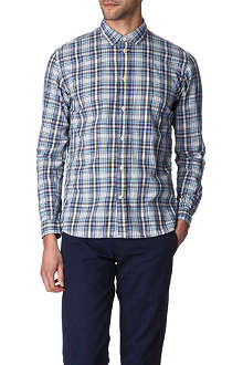 PAUL SMITH JEANS Checked tailored-fit shirt