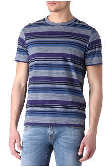 PAUL SMITH JEANS Fleck stripe t-shirt