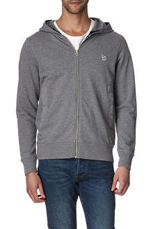 PAUL SMITH JEANS Appliquéd-zebra hoody