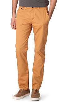 PAUL SMITH JEANS Coloured cotton-twill chinos