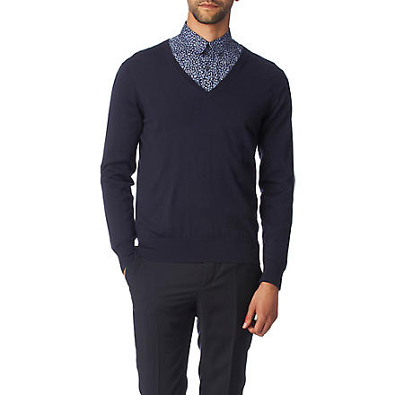 PS BY PAUL SMITH Tipped jumper (Navy